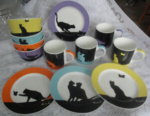 Cat Design Dinnerware