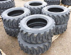 NEW 12X16.5 10X16.5 SKID STEER TIRES 12 / 10 PLY LOADER