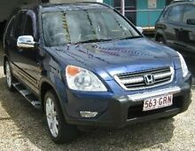 2002 Honda CR-V RD MY2002 Sport 4WD Blue 4 Speed Automatic Wagon Bungalow Cairns City Preview