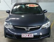 2008 Honda Civic MY07 VTi Blue 5 Speed Automatic Sedan Rocklea Brisbane South West Preview