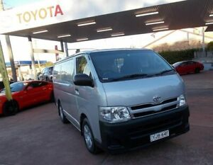 2012 Toyota HiAce KDH201R MY12 Upgrade LWB Quicksilver 4 Speed Automatic Van Belmore Canterbury Area Preview