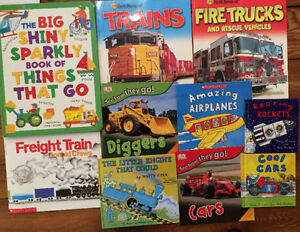 THINGS THAT GO picture books $3 each or all 10 for $20 London Ontario image 1