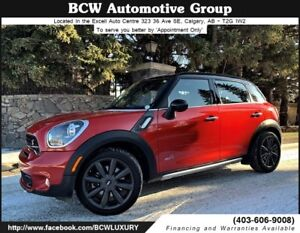 2015 MINI Cooper Countryman S AWD Low Kms Certified MINT!