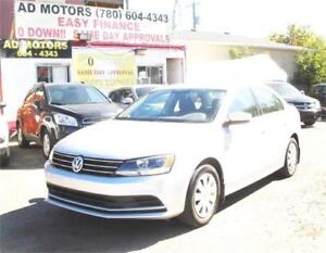 """""""NO ACCIDENT/ONE OWNER"""" 2015 VOLKSWAGEN JETTA AUTO LOADED"""