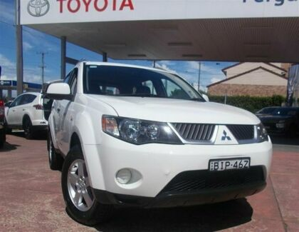 2008 Mitsubishi Outlander ZG MY09 LS 6 Speed CVT Auto Sequential Wagon Belmore Canterbury Area Preview