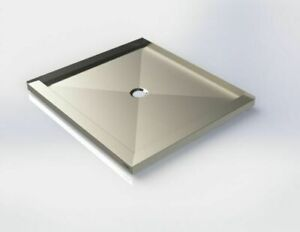 MADE IN CANADA STAINLESS STEEL SHOWER BASE