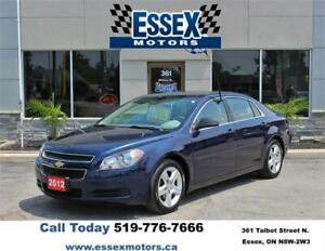 2012 Chevrolet Malibu***ONE OWNER***NO ACCIDENTS WELL MAINTAINED