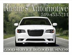 WE DO IT ALL HERE $60/HR RICHIES AUTOMOTIVE