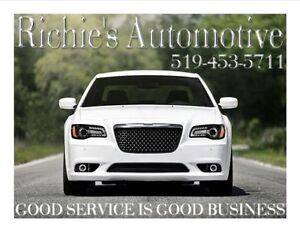 RICHIES AUTOMOTIVE REPAIR $60/HR