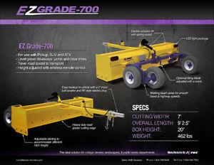 Gravel Driveway Leveler Scraper 7'