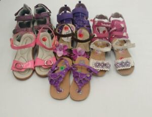 (198) Girls' Sandals All Sizes