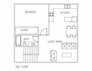 2 Bedroom, 2 Full Bathroom + Attached Garage Strathcona County Edmonton Area image 3