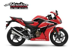 NOW IN STOCK! 2018 CBR300RA ABS Sport Bike! BRAND NEW!