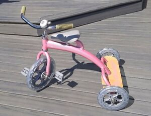 'Lil Giant tricycle - pink. Nicest Trike you've ever seen