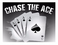 St. Patrick's Church Hall Chase the Ace - Jackpot is $8015.50
