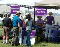 Volunteers for Niagara Lavender Festival - July 11 to 12, 2015
