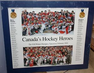Canada's Hockey Heroes, Olympic's 2010 Picture