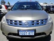 2006 Nissan Murano Z50 TI Gold 6 Speed Constant Variable Wagon Bellevue Swan Area Preview