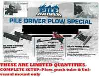 PLOW ATV UTV SALE ONLY TILL JAN 30 $380.53 NEW COMPLETE SETUP