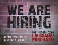 Hiring Full-Time Server Positions In DOWNTOWN Restaurant