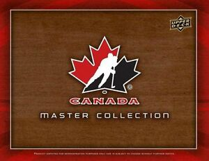 2015-16 Upper Deck Team Canada Master Collection Brand new