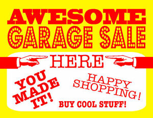 Multi Family HUGE garage sale - doors open May 25th @10:30 am