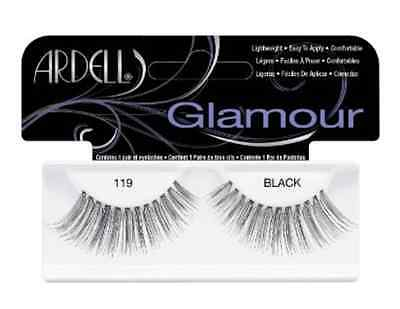 (LOT OF 72) Ardell Glamour Lashes #119 False Fake Eyelashes Black Long Fashion