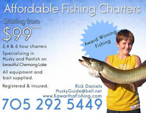 Fishing from $99 - Bass, Walleye, Muskie Peterborough Peterborough Area image 7