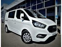 2020 Ford Transit Custom 2.0 Ecoblue 170Ps Low Roof D/Cab Limited Van Auto Crew