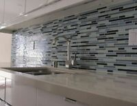 BACKSPLASH TILES SPECIALIST. FREE ESTIMATE RESONABLE RATE