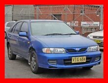 1998 Nissan Pulsar N15II LX Bayside Blue 4 Speed Automatic Hatchback Granville Parramatta Area Preview