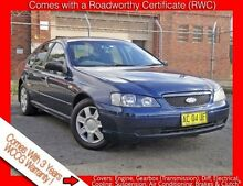 2004 Ford Falcon BA MkII XT Blue 4 Speed Auto Seq Sportshift Sedan Granville Parramatta Area Preview