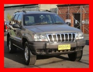 2001 Jeep Grand Cherokee WG Laredo (4x4) Grey 4 Speed Automatic 4x4 Wagon Granville Parramatta Area Preview