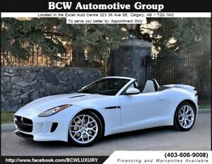 2014 Jaguar F-Type Convertible Low Kms Must See $49,995.00 WOW!
