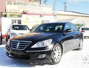 2011 HYUNDAI GENESIS NAVi SUNROOF LEATHER LUXURY 100% FINANCING