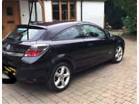 Vauxhall Astra black 2008 for sale