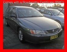 2004 Holden Commodore VY II Acclaim Grey 4 Speed Automatic Wagon Granville Parramatta Area Preview