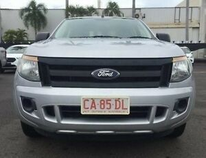 2012 Ford Ranger PX XL Double Cab 4x2 Silver 5 Speed Manual Utility Berrimah Darwin City Preview