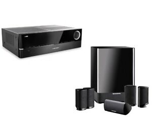 Harman Kardon AVR-154 Receiver and surround (HDMI)