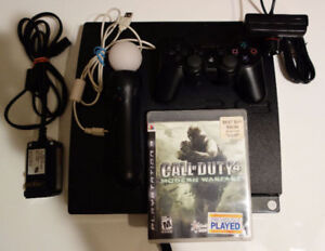 PS3  like new plus a lot of accessories + 28 games collection
