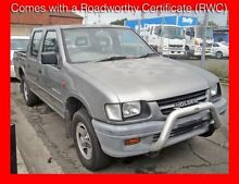 1999 Holden Rodeo TFR9 LX 5 Seater 4 Doors V6 5 Speed Manual Crewcab Granville Parramatta Area Preview