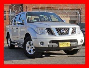 2006 Nissan Navara D40 ST-X 5 Seater 4 Doors 5 Speed Automatic Dual Cab Pick-up Granville Parramatta Area Preview