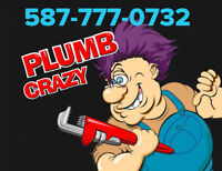 PLUMB CRAZY - for all your plumbing/gasfitting needs. NW/SW