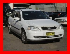 2002 Holden Astra TS Equipe White 5 Speed Manual Hatchback Granville Parramatta Area Preview