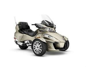 Non-Current 2017 Can-Am Spyder RT LTD (DEMO)
