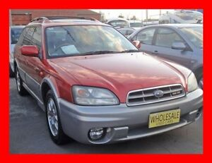2003 Subaru Outback MY03 H6 Luxury Leather Seats Luxury 4 Speed Automatic Wagon Granville Parramatta Area Preview
