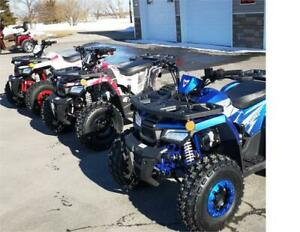 New Raptor kids ATV 125cc Now AT Casselman Performance