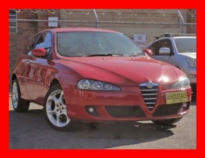2007 Alfa Romeo 147 MY06 TI Selespeed ** Low 119,000 Kms * 5 Speed Automatic Selespeed Hatchback