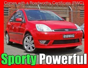 2004 Ford Fiesta WP Zetec 10/jun/2016 Rego !!! 5 Speed Manual Hatchback Granville Parramatta Area Preview