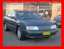 2002 Toyota Avalon MCX10R CSX Green 4 Speed Automatic Sedan Granville Parramatta Area Preview